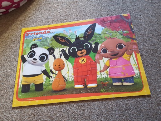 Toddler antrum Number Four - There was a piece missing from this jigsaw...