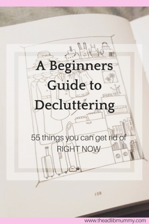 A Beginners Guide to Decluttering