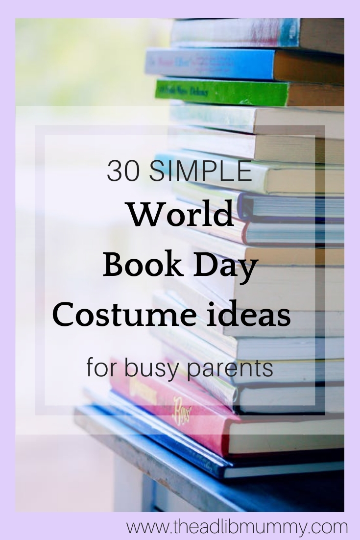 30 Simple World Book Day Costumes for busy parents